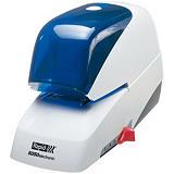 Rapid Supreme 5050e, grapadora eléctrica, ABS, blanco/azul