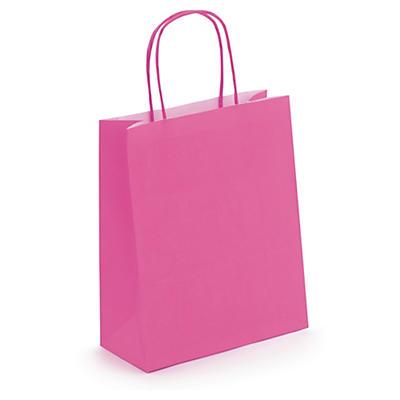 Raspberry mini Kraft bags