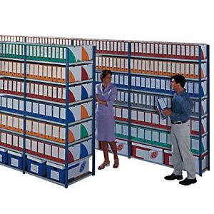 Rayonnage archives évolutif elément départ simple face - largeur 100 cm