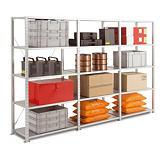 Rayonnage Atelier galvanisé-H.200 x L.100 X P.40 cm-Elément Départ