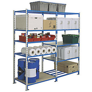 Rayonnage industriel Sumo - Charges lourdes - H. 200 x L. 130 x P. 60 cm - Elément Suivant