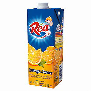 REA Jus d'Orange REA - 1 L (Lot de 10 briques)
