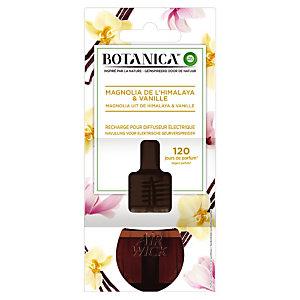 Recharge pour diffuseur électrique Botanica, parfum Vanille & Magnolia, flacon de 19 ml