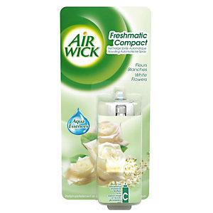 Recharge pour diffuseur de parfums Fresh Matic Mini fleurs blanches 24 ml