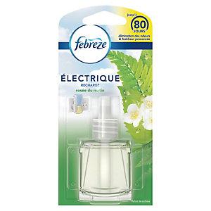 Recharge pour diffuseur de parfums électrique Febreze rosée du matin 20 ml