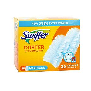 Recharges plumeaux Swiffer Duster XXL, boîte de 15