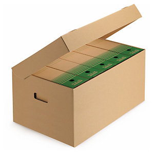 Document and archive boxes: ideal for storage, transportation and postage