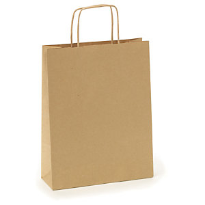 860e1845c5e Recycled Kraft paper carrier bags Recycled Kraft paper carrier bags