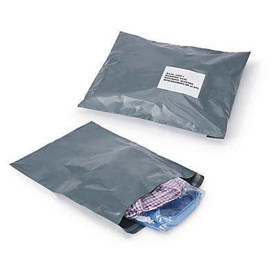 Recycled polythene mailers