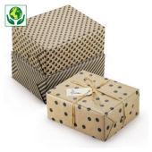 Recycling-Geschenkpapiere Retro