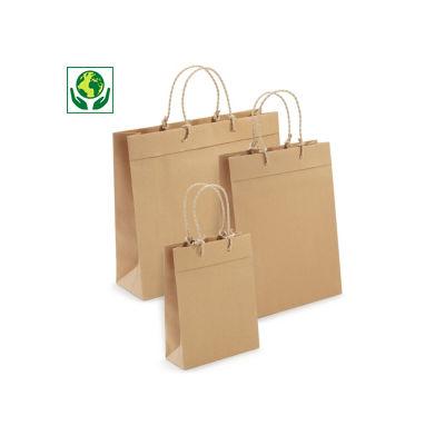 Recycling-Papiertragetaschen Eleganz