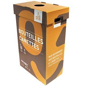 recygo ECOBOX boîte de collecte pour le tri et recyclage des bouteilles plastiques et canettes