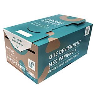 recygo KADNABOX boîte de collecte pour le tri et le recyclage des papiers