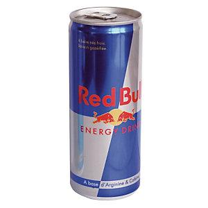 Red Bull Energy Drink, en canette, lot de 24 x 25 cl