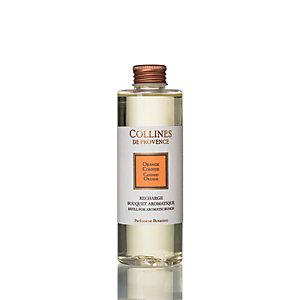 Refill per diffusore a bastoncini ai Fiori di Arancio Collines de Provence, 200 ml