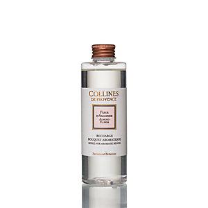 Refill per diffusore a bastoncini ai Fiori di Mandorle Collines de Provence, 200 ml