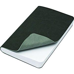 Reflexa® Taccuino rilegato, 9 x 14 cm, 240 pagine bianche, Copertina flessibile, Grigio scuro/Grigio chiaro
