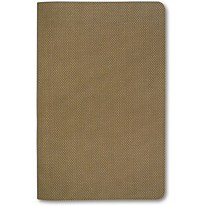 Reflexa® Taccuino rilegato, Special Christmas Edition, 12 x 20 cm, 240 pagine a righe, Copertina flessibile, Gold