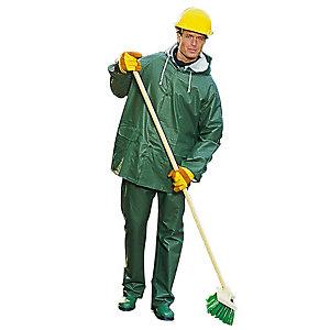 Regenpak. Groen, maat XL-XXL.