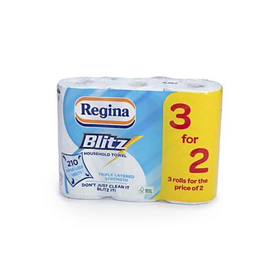 Regina Blitz Triple Ply Kitchen Towels – Pack of 3