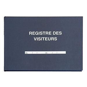 """Registre spécialisé """"Visiteurs"""" 21 x 29,7 cm 96 pages"""