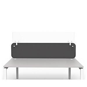 Réhausse Plexiglas H.26 cm pour panneau écran séparateur L.140 cm - Prévention covid