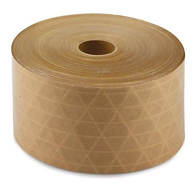 Reinforced, gummed paper tape