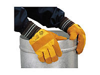 Rękawice wzmocnione skórą docker