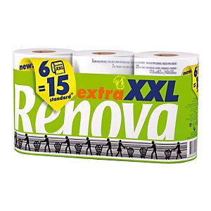Renova Compact Extra XXL toiletpapier, doos van 6 rollen
