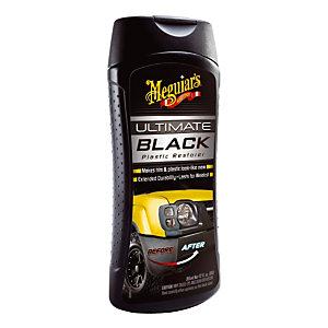 Renovateur plastiques extérieurs Ultimate Black Meguiar'S, flacon de 355 ml