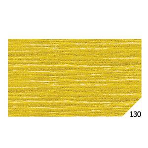 REX SADOCH Carta crespa - 50x150cm - oro metal 130 - Rex Sadoch - conf.10 rotoli
