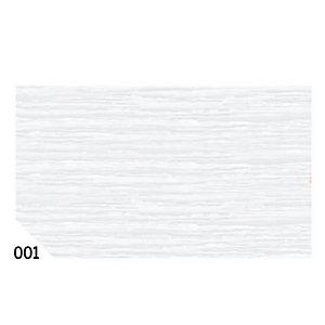 REX SADOCH Carta crespa - 50x250cm - 60gr - bianco 001 - Rex Sadoch - conf. 10 rotoli