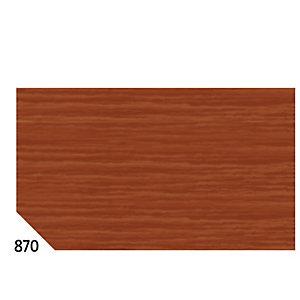 REX SADOCH Carta crespa - 50x250cm - 60gr - marrone 870 - Rex Sadoch - conf.10 rotoli