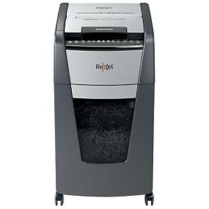 Rexel AutoFeed+ 300X Destructora automática de corte en partículas, 60 l, Seguridad P-4