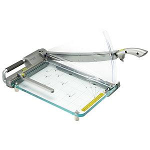 Rexel ClassicCut™ CL410, Guillotina, A4, tecnología láser, 25 hojas, 152 x 739 x 398 mm, gris plata metalizado