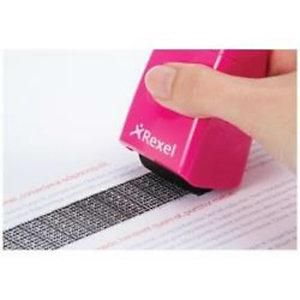 Rexel, Distruggidocumenti, Rullo di protezione dati rosa, 2112007