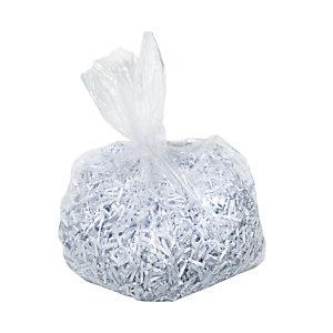 Rexel Sac poubelle en plastique pour destructeur de document Optimum capacité 175 litres