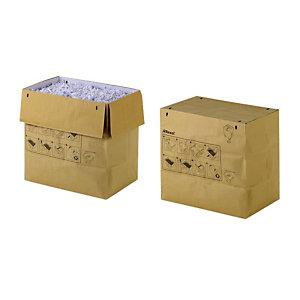 Rexel Sacs en papier recyclé pour destructeurs de documents, 23 l, marron (Lot de 20 sacs)