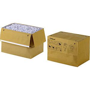 Rexel Sacs en papier recyclé pour destructeurs de documents, 50 l, marron
