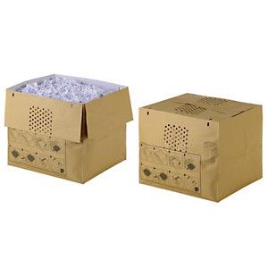 Rexel Sacs en papier recyclé pour destructeurs de documents Auto+ 600X/M, 80 l, marron