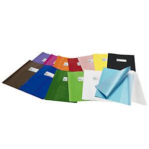 RI.PLAST Coprimaxi Green line - 21x30cm - PVC - bianco - tasca portanome - con alette - Ri.plast