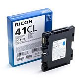 Ricoh 41CL, 405766, Cartucho de Tinta, Cian
