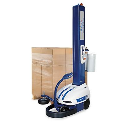 Robot à banderoler à frein manuel ou à préétirage motorisé