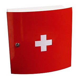 Rode apotheekkast 1 deur Esculape