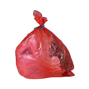 Rode in koud water oplosbare zak set van 200