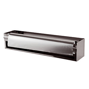 Rolhouder voor aluminiumpapier in roestvrij staal