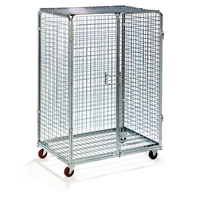 Roll container lucchettabile