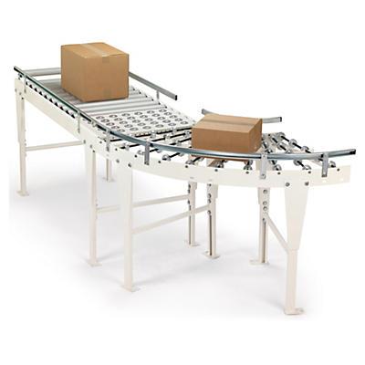 Rollenbahn gerade (mit Kunststoffrollen)