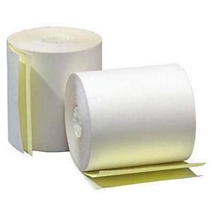 Rollo de papel estándar con copia 76 x 70 x 12 mm 55 gr