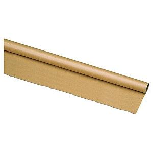 Rollo de papel kraft marrón 1 x 50 m